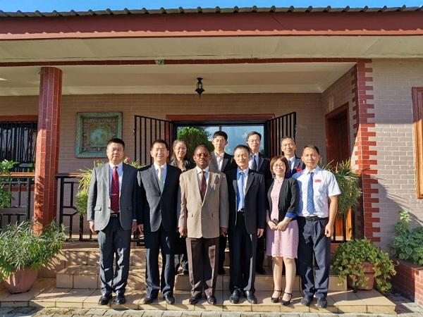 段宇飞主任率工作组赴赤道几内亚、加纳、南非调研访问