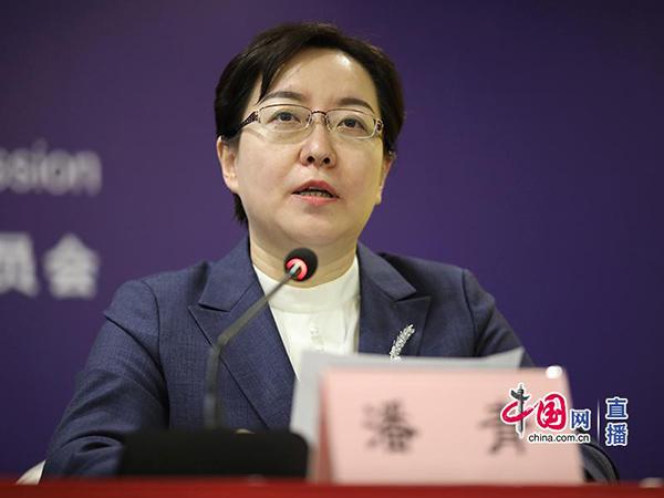 山东省滨州市政府副市长潘青回答记者提问.jpg