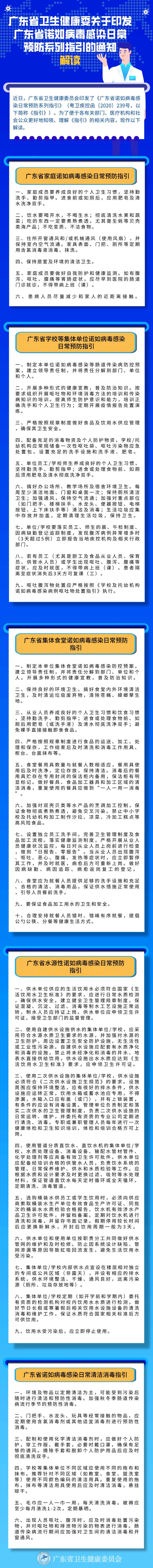 《广东省卫生健康委关于印发广东省诺如病毒感染日常预防系列指引的通知》解读.png